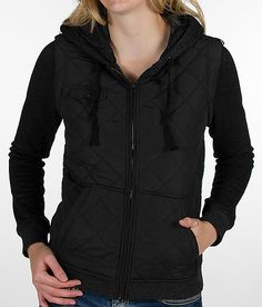 L or XL:   Hurley Bristol Technical 2-Fer Jacket