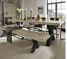 Our Lakeview Rectangle Dining Table Has A Concrete Top, Double Pedestal  Base And A Driftwood Finish With Wire Brushing. Its Refined Rustic Appeal Iu2026