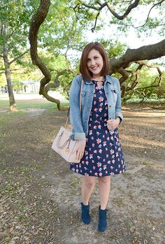 Stitch Fix March 2016 - Tammi Navy Keyhole Dress @shopandtwirl