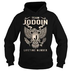 (Tshirt Top Tshirt Deals) Team JODOIN Lifetime Member Last Name Surname T-Shirt Coupon Today Hoodies Tees Shirts