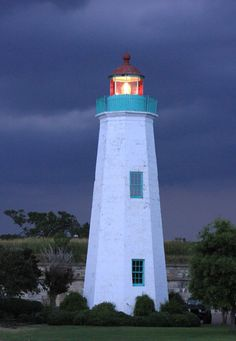 Old Point Comfort Lighthouse - Ft. Monroe VA. Right down the road from me.