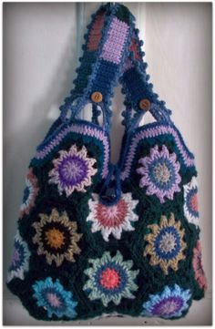 This one for Terri! Hexagons Bag by Zelna Olivier - picture only