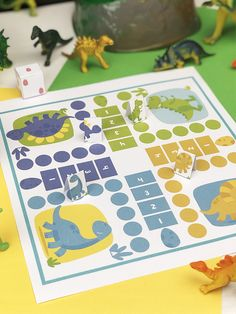 The famous game of little horses in a dinos release? Diy For Kids, Crafts For Kids, Game Room Design, Educational Games For Kids, Scrapbook Stickers, Funny Games, Diy Projects To Try, Art Education, Preschool Activities