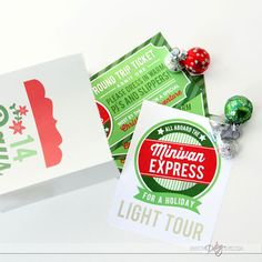 Holiday Minivan Express- I can't WAIT to do this with the kids!!!!