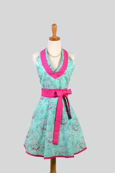 Turquoise and hot pink? Brilliant!