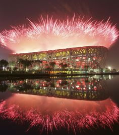 Beijing's National Stadium, or the Bird's Nest, will be used for the opening and closing ceremonies