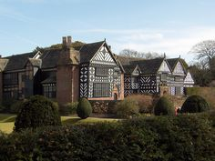 """""""Stay with Amira at the Old Lodge."""" / Speke Hall, Deborah Harkness' model for Matthew's home in Woodstock, The Old Lodge / Pictured: Speke Hall by Stephen Briscoe on Flickr"""
