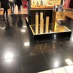 An opulent floor tile that simply exudes glamour and class. These sparkles quartz tiles contain charming mirrored flecks and have a smooth and finely polished finish. Sparkle Tiles, Quartz Tiles, Black Quartz, House Tiles, Sparkles, Tile Floor, Smooth, Glamour, It Is Finished