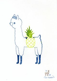 Alpaca Pineapple