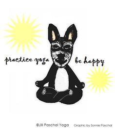 Be Happy Practice Yoga, Yoga Art, Happy, Happiness