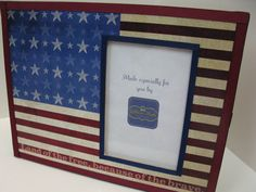 Land of the Free because of the Brave Frame by RibbonMade on Etsy