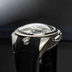 The Azimuth Predator II— a marvel from every angle. Fine Jewelry, Jewelry Making, Predator, Luxury Watches, Newport, Diamond Engagement Rings, Jewelry Watches, Marvel, Jewellery Making