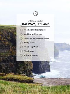 7 Sites to Visit in Galway, Ireland #theeverygirl