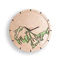 Cnc Wood Projects Wooden Clock 17 Ideas For 2019 Clock Art, Diy Clock, Clock Decor, Clock Ideas, Handmade Wall Clocks, Unique Wall Clocks, Wall Clock Wooden, Wood Clocks, Wood Interior Walls
