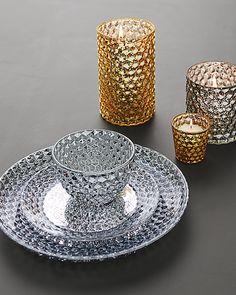 Food-safe AND dishwasher-safe mercury glass. Dream come true.