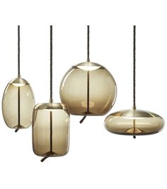 Brokis - Knot Cilindro Suspension Lamp - Shown With Collection Led Pendant Lights, Pendant Lamp, Pendant Lighting, Interior Lighting, Modern Lighting, Lighting Design, Ceiling Lamp, Ceiling Lights, Wall Lamps