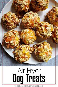 Hello Dog Lovers, these Air Fryer Dog Treats are super simple to make and are a healthy alternative to many boxed treats.