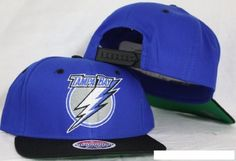 d99f37d749b Tampa Bay Lightning Blue   Black Two Tone Snapback Adjustable Plastic Snap  Back Hat   Cap by Zephyr.  10.04. Make a fashion statement while wearing  this ...