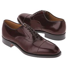 Johnston and Murphy Melton Shoes (Bordeaux) - Men's Shoes - 7.0 D