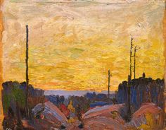 Tom Thomson, Burned Over Land, 1916