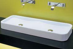 Bathrooms | Basins | Above Counter | Parisi Lens 1000 | Eagles Plumbing Supplies