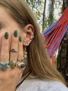 Hippie Jewelry, Cute Jewelry, Jewelry Accessories, Jewlery, Hippie Rings, Funky Jewelry, Women Jewelry, Estilo Indie, Estilo Hippy