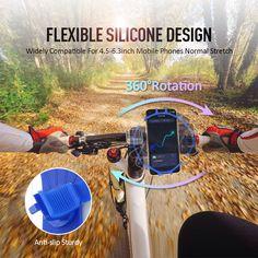 Galaxy S8, Samsung Galaxy, Phone Cradle, Bike Mount, Phone Mount, Cell Phone Holder, Flexibility, Bicycle, Biking