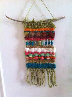 Telar de lanas rústicas