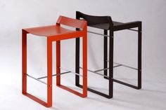 TRAYER Stools by SSTEEL