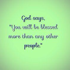 God bless you richly