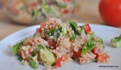 Salad #7 Quinoa Fenugreek Tabbouleh Salad - talkinginallcaps.com