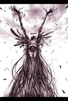 Madoka Kaname witch form - Kriemhild Gretchen by hachimitsu-ink ...