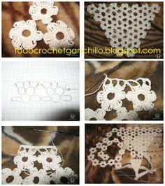 Afbeeldingsresultaat voor como hacer una bikini al crochet Crochet Beach Dress, Bikinis Crochet, Crochet Bra, Crochet Motif, Crochet Designs, Crochet Clothes, Crochet Necklace, Crochet Patterns, Crochet Style