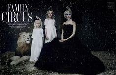 Family Circus  Photographed by Paolo Roversi  W Magazine :: December 2010
