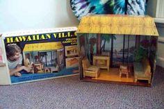 Fully Furnished Hawaiian Villa Doll House by Empire