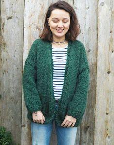 Knitting Tutorial for Beginner & Carola Mohair Sweater, Knit Cardigan, Knitting Patterns Free, Free Knitting, Crochet Baby Sweaters, Shrugs And Boleros, Moss Stitch, Knitting Wool, Diy Crochet