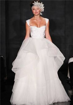 Reem Acra Wedding Dresses - The Knot