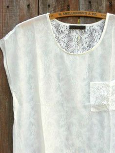 Clover Field Lace Back Top