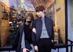 Official Korean Fashion Blog Ulzzang Fashion, Korean Fashion, Daily Fashion, Fashion Online, Blog Online, Korean Couple, Fashion Couple, Asian Style, Fasion