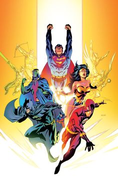 JLA by Roboworks on deviantART