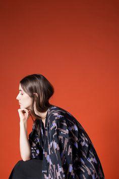 AH/OK - Notturno - Silk Kimono