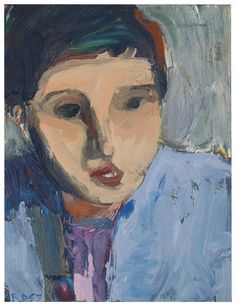 Richard Diebenkorn (1922-1993) | Portrait of N.S., 1957