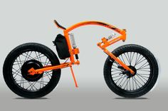 Nisttarkya Electric Concept Bike by Santosh - Nisttarkya electric concept bike designed by Santosh features unique riding position. The aerodynamic riding position was based on bio-inspired design, along with shock absorbers, and headlight, this bike runs on 36v, 350w hub motor. | Tuvie