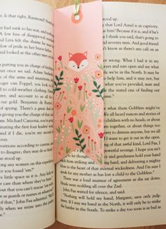 Whimsical Woodland Fox FREE Printable Bookmarks - Courtesy of Meteor Mermaid