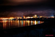 AccuFan Weather Photo of the Day: Anchorage Skyline in Alaska by Miss Alaska, North To Alaska, Wonderful Places, Beautiful Places, Alaska The Last Frontier, Anchorage Alaska, Living In Alaska, Walk In The Woods, Pics Art