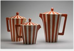 Coffee Service with Flat Handles - 1912-1919 - Pavel Janák