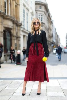 90 cool-girl London street style looks from Fashion Week to give you chic winter outfit ideas: