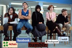 If the Breakfast Club was social media