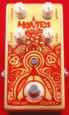 Blackout Effectors Mantra Overdrive. I want this sooooo bad.