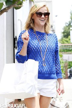 Reese Witherspoon. Reese Witherspoon in this picture is saying oh hi how are you?